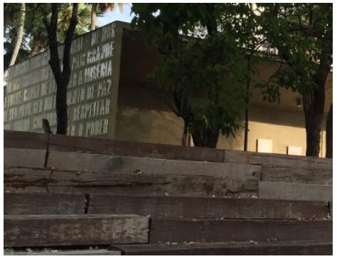 Escadaria do Mausoléu Castelo Branco