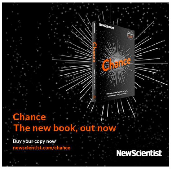Anúncio da New Scientist no Facebook