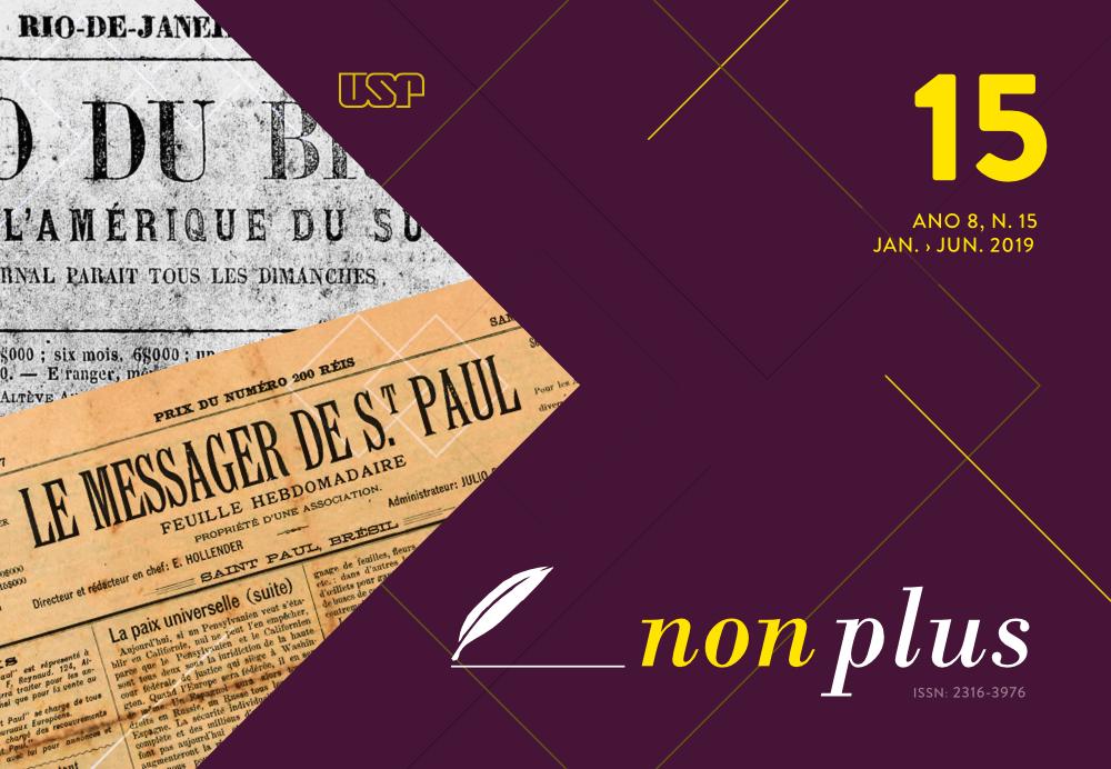 Visualizar v. 8 n. 15 (2019): A imprensa francófona e o Brasil