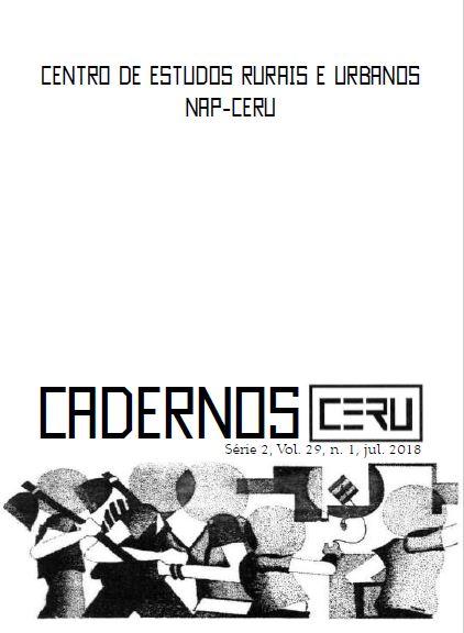 Cadernos CERU v. 29.1 jul. de 2018