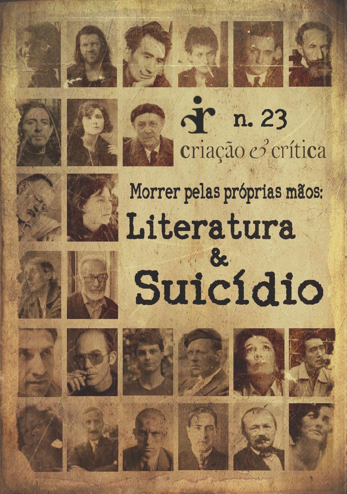 Visualizar n. 23 (2019): Morrer pelas próprias mãos: literatura e suicídio