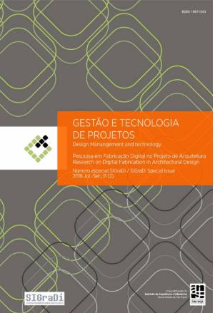 Visualizar v. 14 n. 1 (2019): Número especial  publicado em parceria com a Sociedade Iberoamericana de Gráfica Digital (SIGraDi)