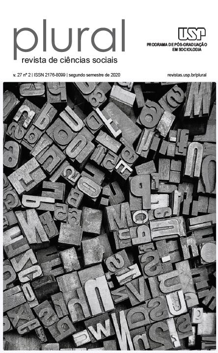 """Visualizar v. 27 n. 2 (2020): Dossiê: """"Sociologia do Jornalismo. Por uma agenda de pesquisa"""""""