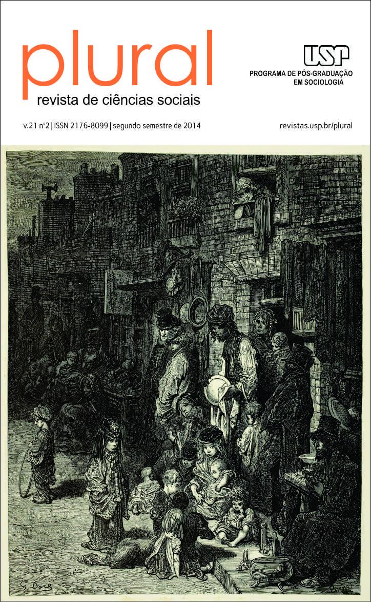 Visualizar v. 21 n. 2 (2014): Classes Sociais: estudos sobre desigualdades, estilos de vida e padrões de sociabilidade