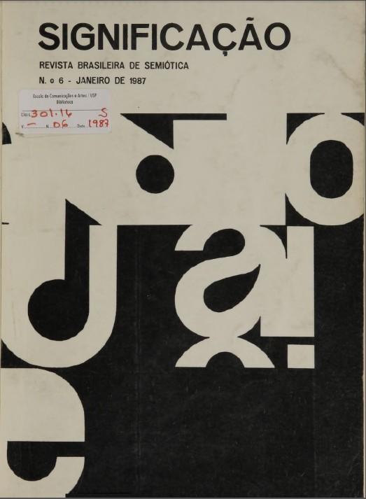 Visualizar n. 6 (1987)