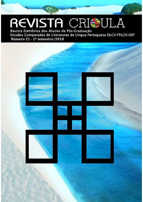 Visualizar n. 21 (2018): Dossiê n. 21: Cânone e silêncios: o (não) lugar das minorias na Literatura