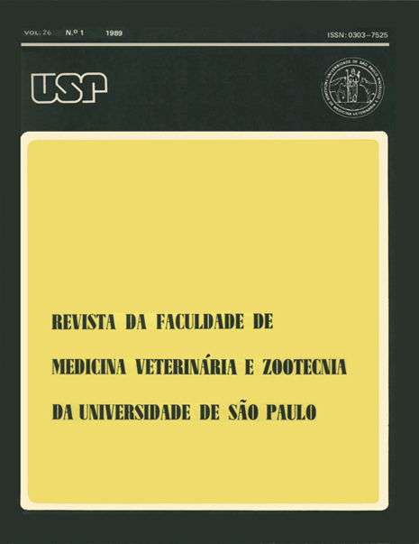 Visualizar v. 26 n. 1 (1989)