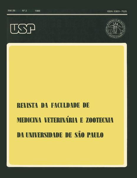 Visualizar v. 26 n. 2 (1989)