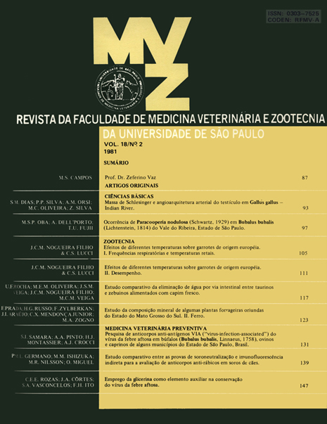 Visualizar v. 18 n. 2 (1981)