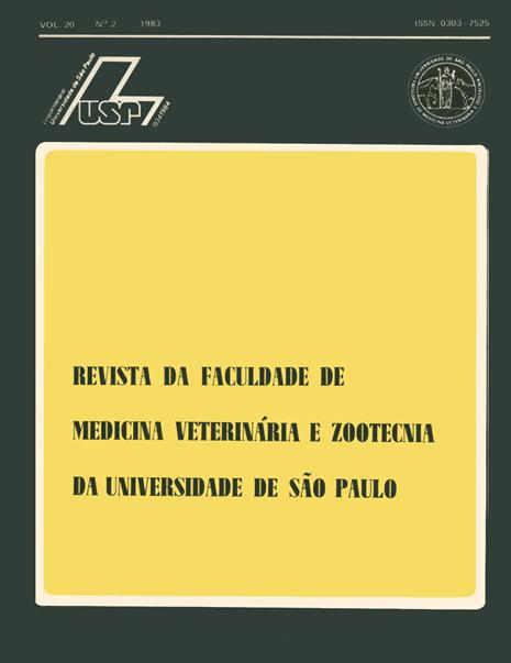 Visualizar v. 20 n. 2 (1983)