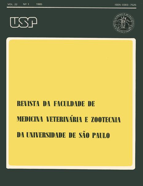 Visualizar v. 22 n. 1 (1985)