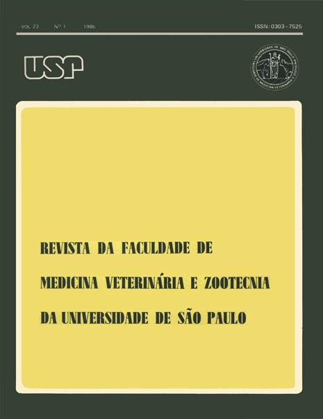 Visualizar v. 23 n. 1 (1986)
