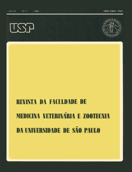 Visualizar v. 23 n. 2 (1986)