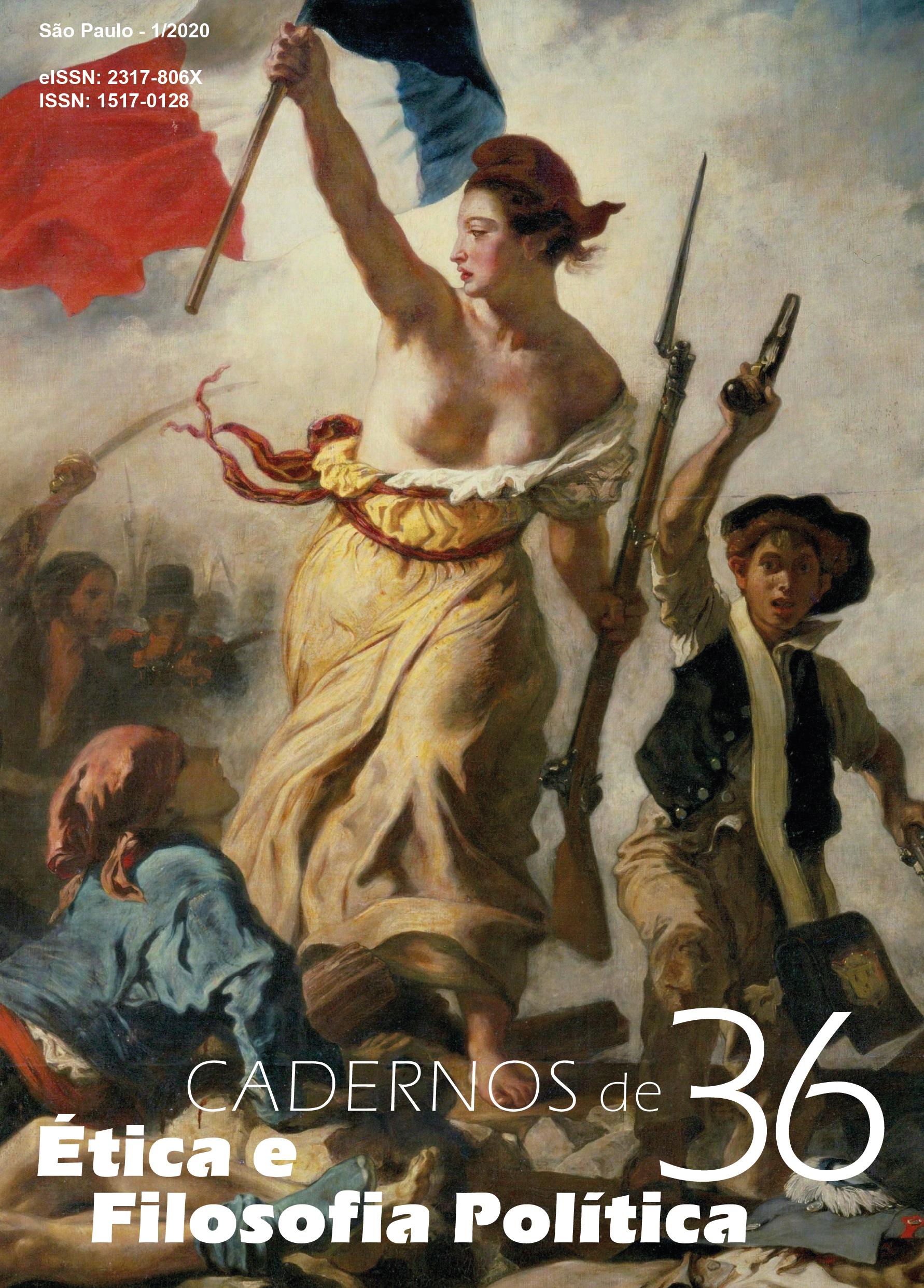 Eugène Delacroix, A Liberdade Guiando o Povo (1830).