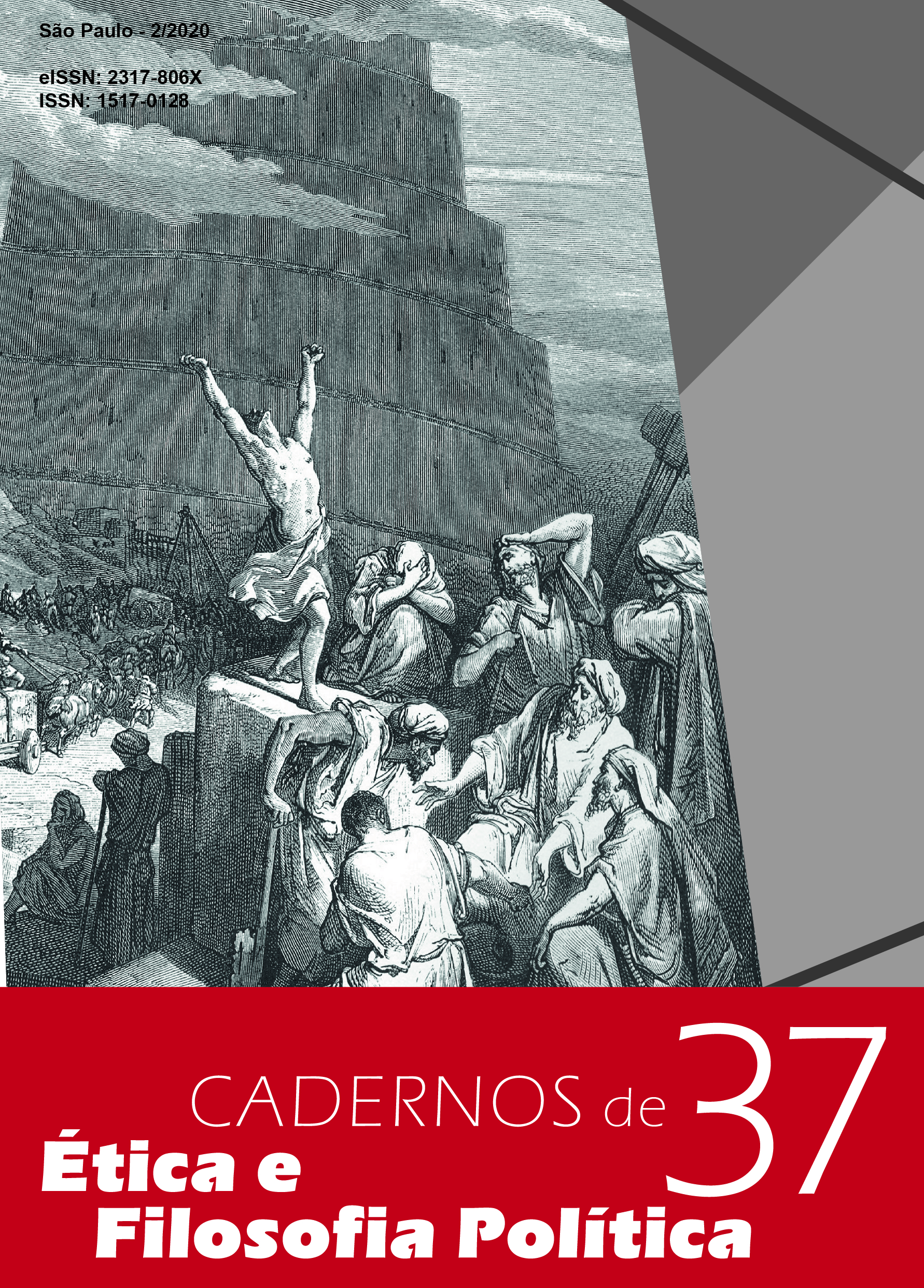Visualizar v. 2 n. 37 (2020): Varia e Dossiê Especial III Jornada de Ética e Filosofia Política: Os fins da política