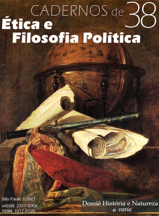 Visualizar v. 1 n. 38 (2021): Varia e Dossiê História e Natureza: I Encontro Argentina-Brasil sobre estudos do século XVIII