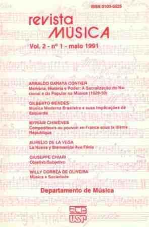 Visualizar v. 2 n. 1 (1991)