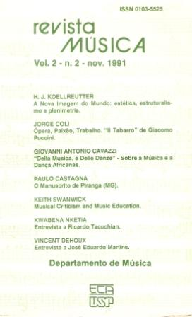 Visualizar v. 2 n. 2 (1991)