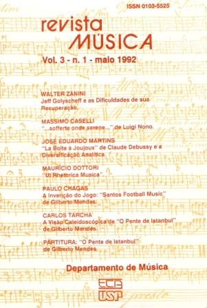 Visualizar v. 3 n. 1 (1992)