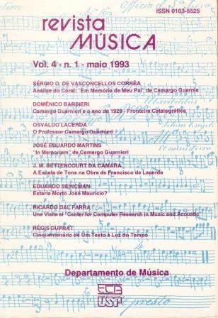 Visualizar v. 4 n. 1 (1993)