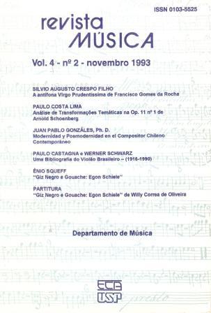 Visualizar v. 4 n. 2 (1993)