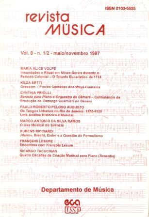 Visualizar v. 8 n. 1-2 (1997)