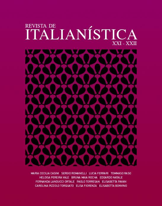 Revista de Italianística XXI - XXII 2011