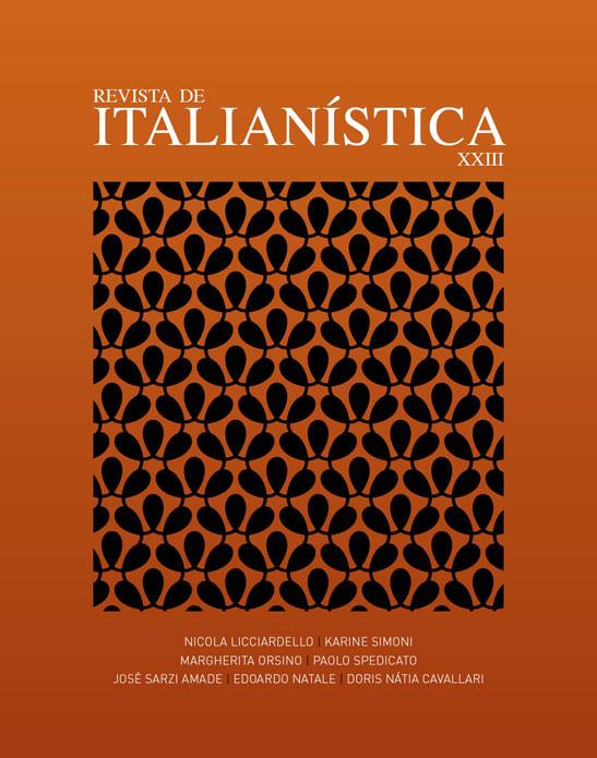 Revista de Italianística nº XXIII