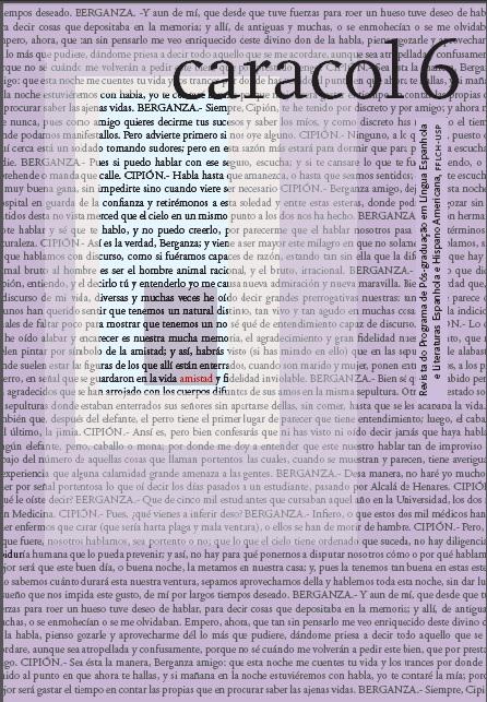 """Visualizar n. 6: (jul-dez 2013) Dossiê """"Novelas Ejemplares"""""""