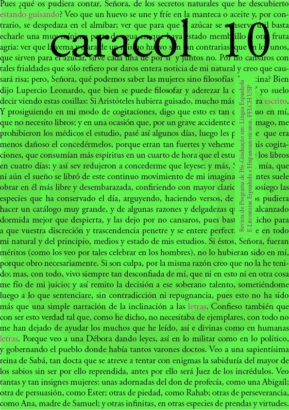 Visualizar n. 10: (jul-dez 2015) Dossiê Discursos biográficos e autobiográficos no âmbito das literaturas espanhola e hispano-americana