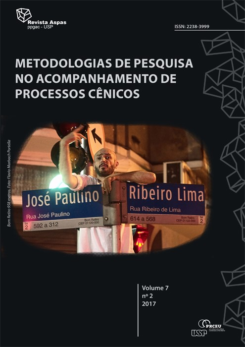 Visualizar v. 7 n. 2 (2017): Metodologias de pesquisa no acompanhamento de processos cênicos