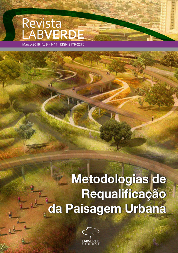 Visualizar v. 9 n. 1 (2018): METODOLOGIAS DE REQUALIFICAÇÃO DA PAISAGEM URBANA