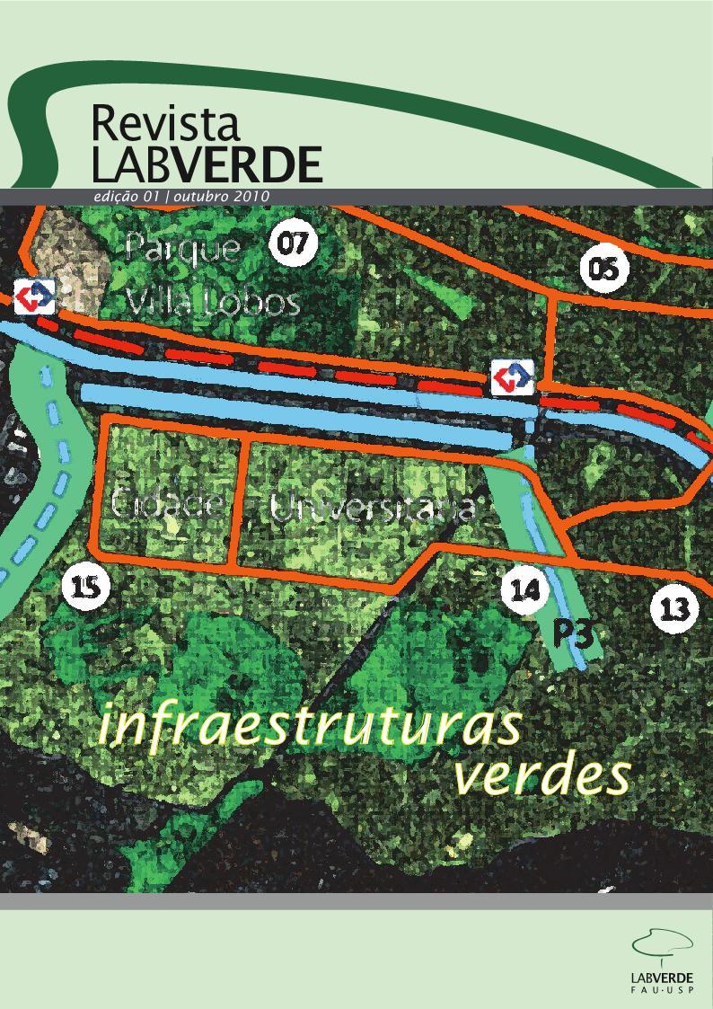 Visualizar n. 1 (2010): Infraestruturas Verdes