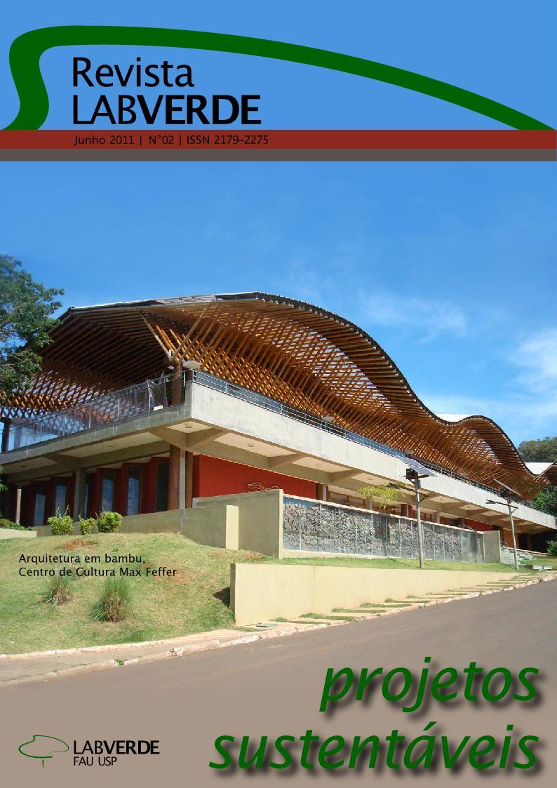 Visualizar n. 2 (2011): Projetos Sustentáveis