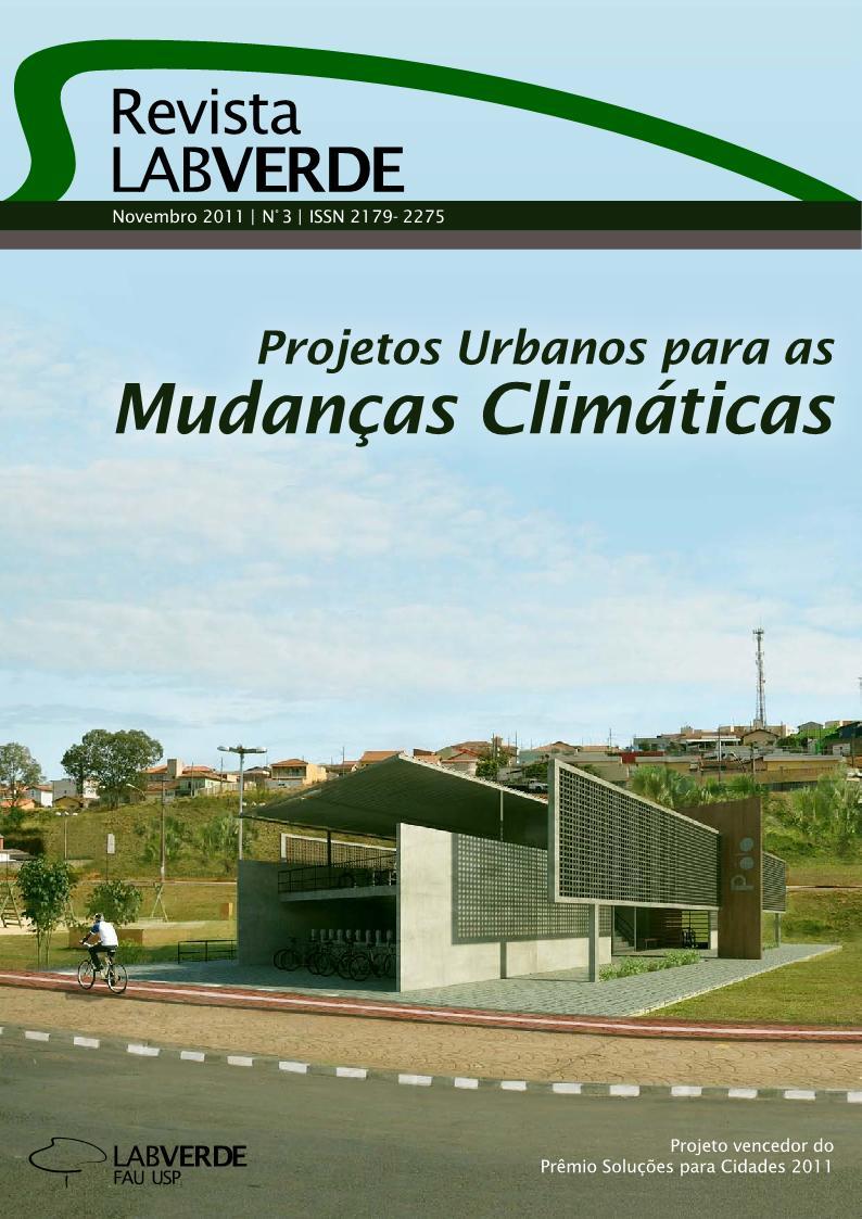 Visualizar n. 3 (2011): Projetos Urbanos para as Mudanças Climáticas