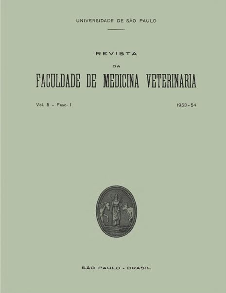 Visualizar v. 5 n. 1 (1953)