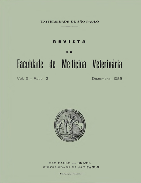 Visualizar v. 6 n. 2 (1958)