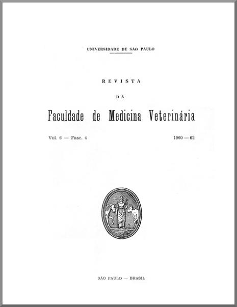 Visualizar v. 6 n. 4 (1960)
