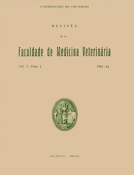 Visualizar v. 7 n. 1 (1963)