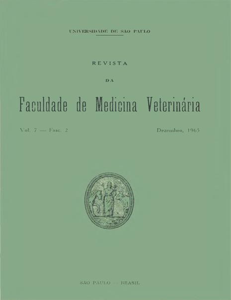 Visualizar v. 7 n. 2 (1965)