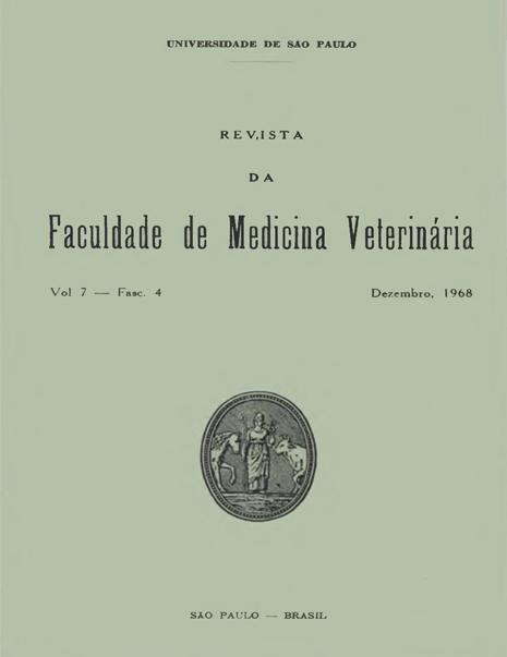 Visualizar v. 7 n. 4 (1968)