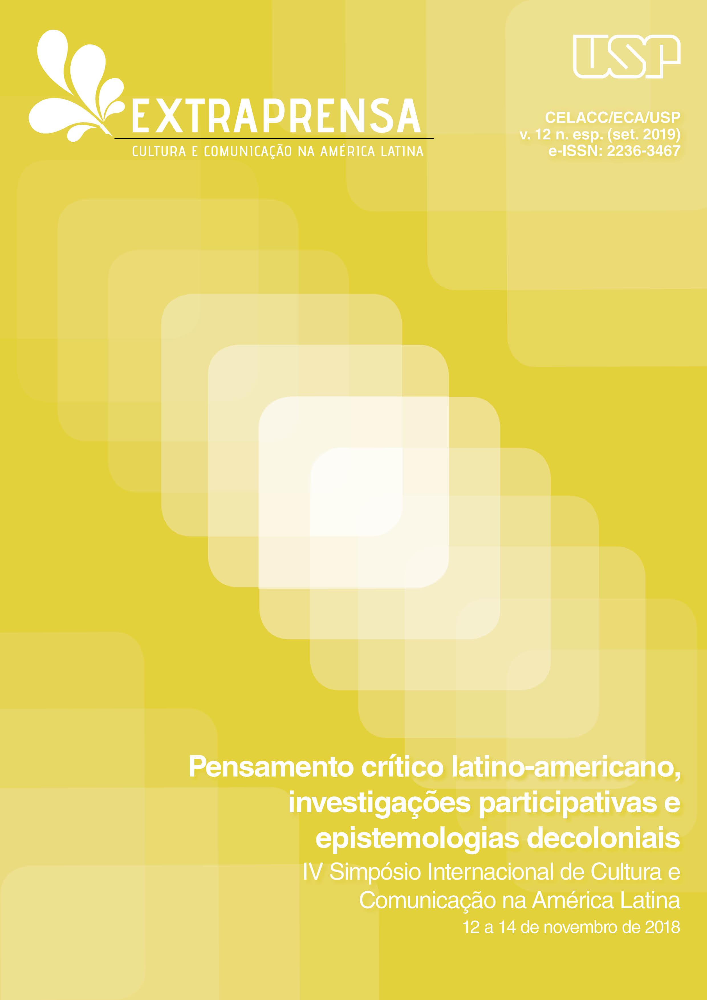 Visualizar v. 12 (2019): IV Simpósio Internacional de Cultura e Comunicação na América Latina