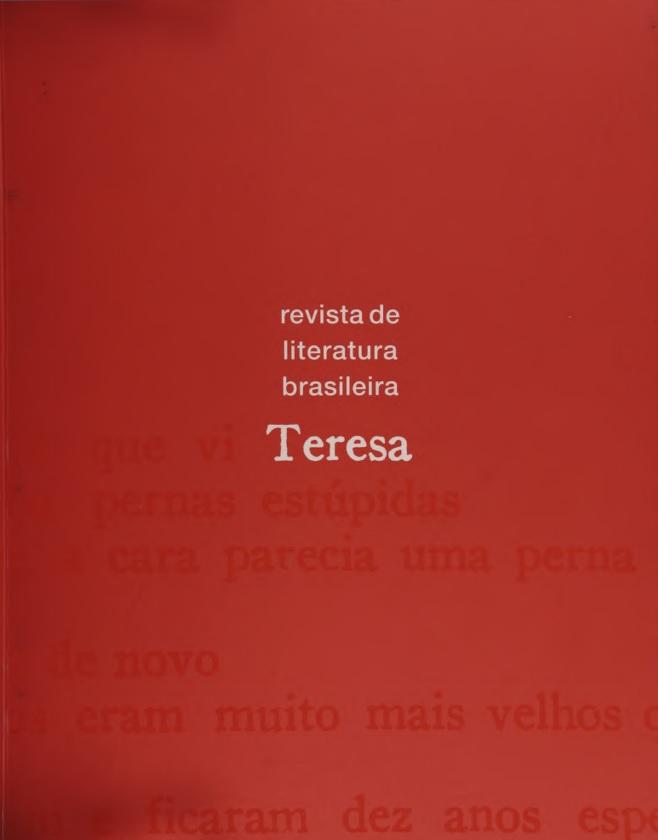 Visualizar n. 1 (2000): Teresa n. 1