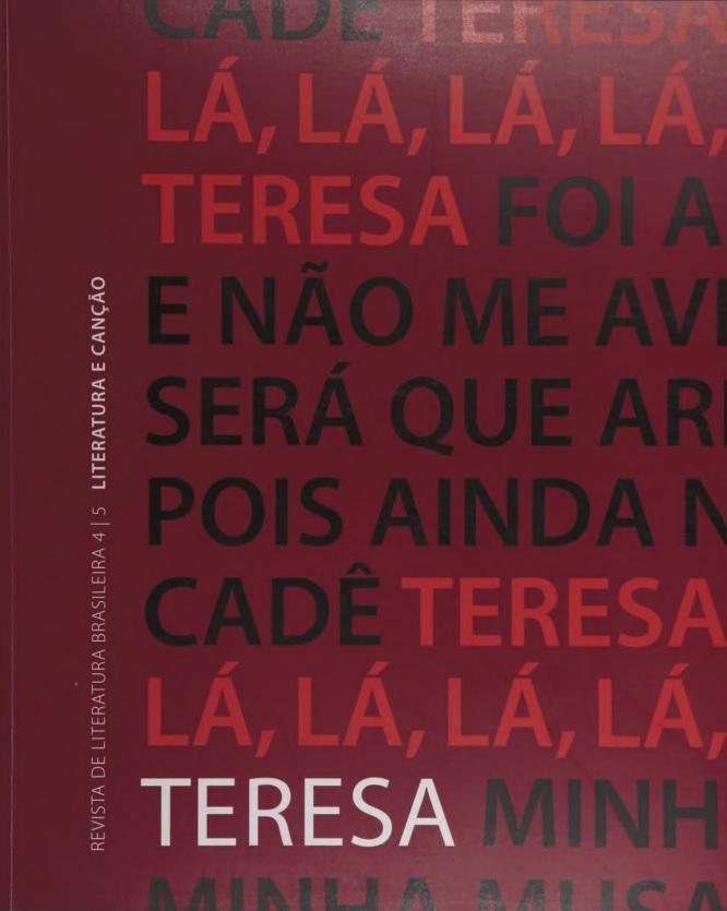 Visualizar n. 4-5 (2003): Literatura e canção