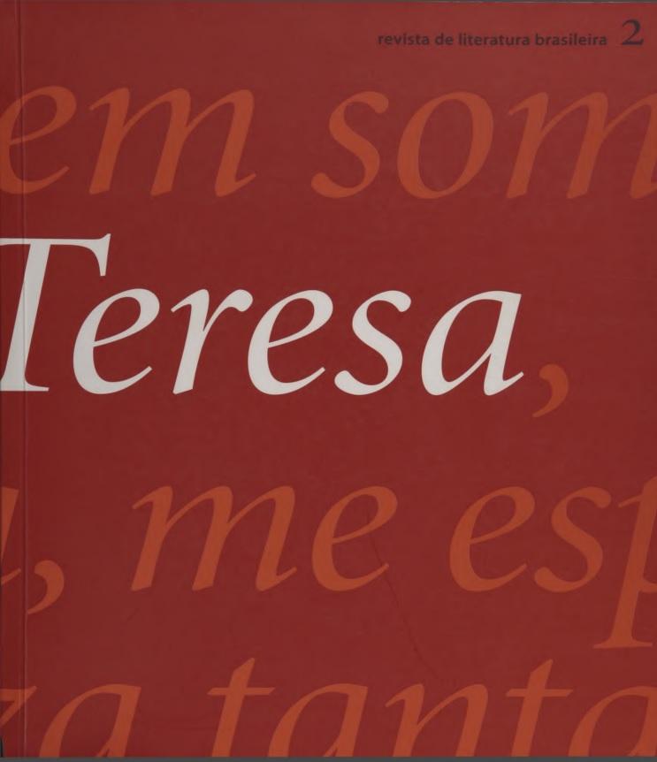 Visualizar n. 2 (2001): Teresa n. 2