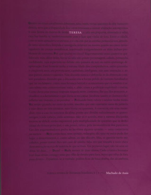 Visualizar n. 6-7 (2005): Machado de Assis