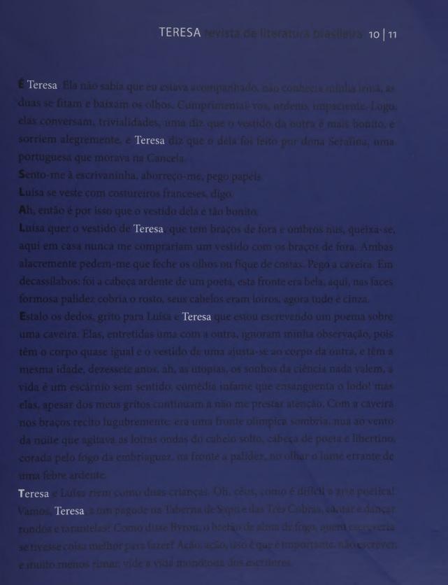 Visualizar n. 10-11 (2010): Literatura brasileira do presente: tendências