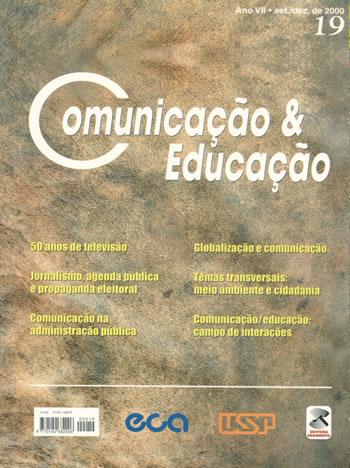 Visualizar n. 19 (2000): 50 anos de televisão, Jornalismo, agenda pública e propaganda eleitoral, Comunicação na administração pública