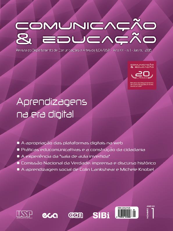 Visualizar v. 20 n. 1 (2015): Comunicação & Educação: Aprendizagens na era digital
