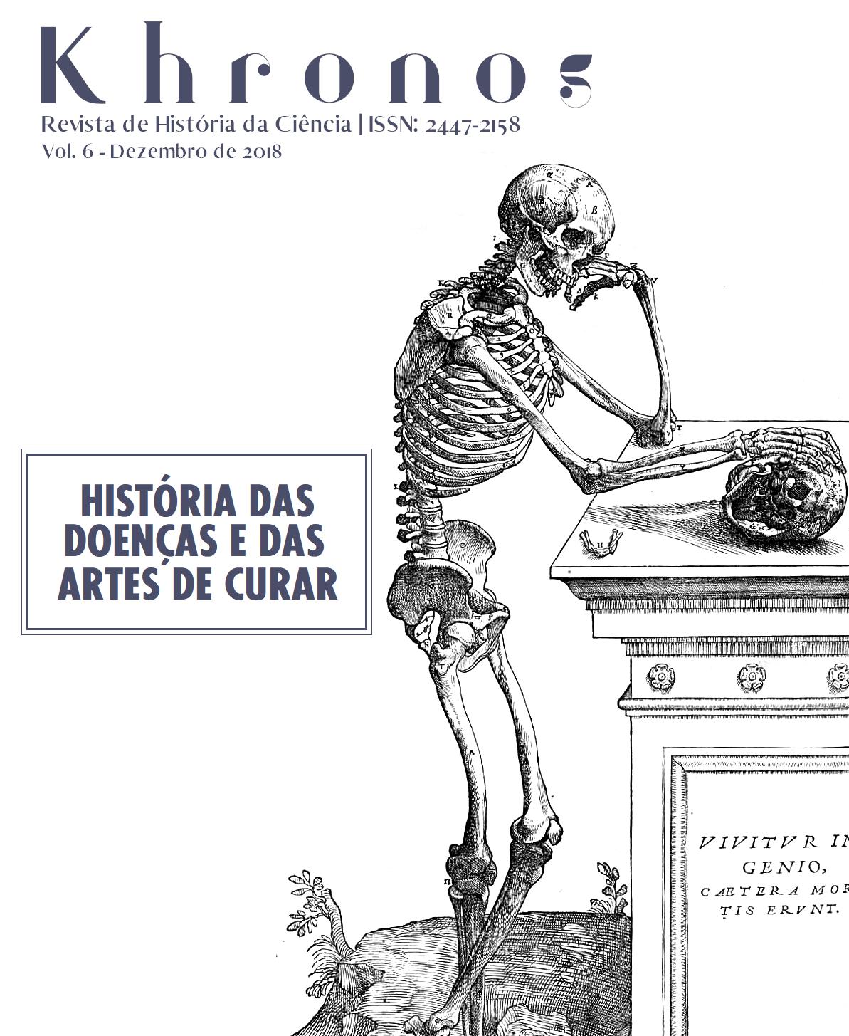 Khronos nº 6 - História das doenças e das artes de curar